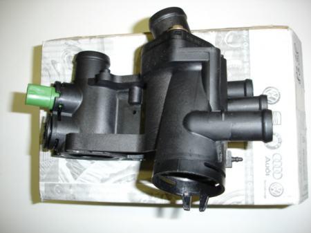 Skoda Octavia 1,6 75 LE termosztát komplett