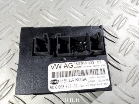 Skoda Octavia II komfort elektronika