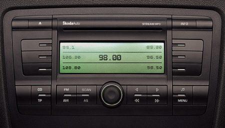 Skoda Octavia CD-s,MP3-as rádió STREAM