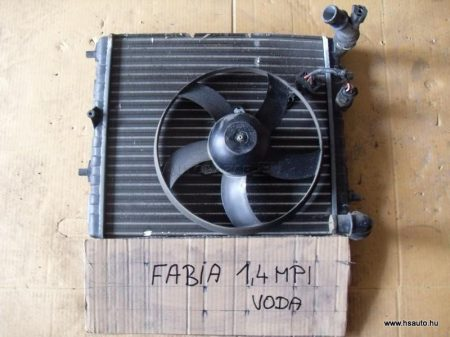 Skoda Fabia vízhűtő motorral