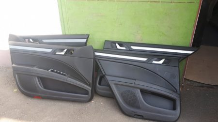 Skoda Superb II ajtókárpit garnitúra /sedan/